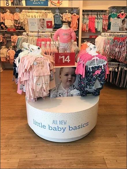 Little Baby Basics Circular Island Display