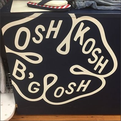 Osh Kosh B'Gosh Branded Island Display