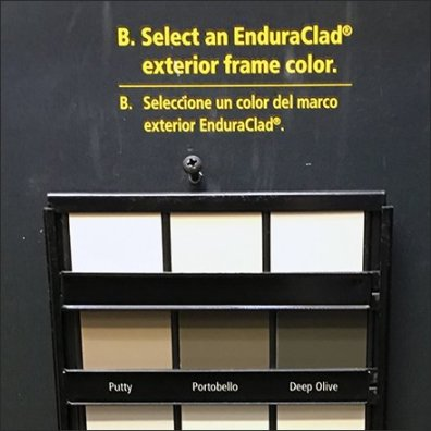 Exterior Frame Color Selector Samples Add-On