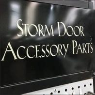 Storm Door Accessory Endcap Display