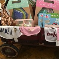 Visual Merchandising Cart Load Display