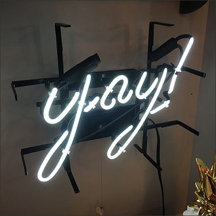 Rustique Retail Hurrah In Neon