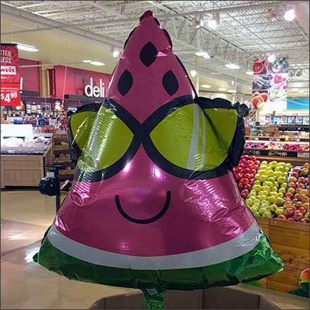 Weis Watermelon Inflatables In Produce Feature