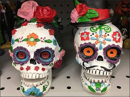 Mexican Day of the Dead Halloween Couple