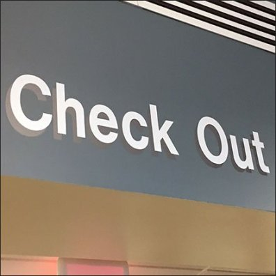 Doc-In-A-Box Checkout Locator Signs