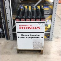 Genuine Power Equipment Oil Honda Branding