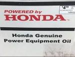 Genuine Power Equipment Oil Honda Branding Logo