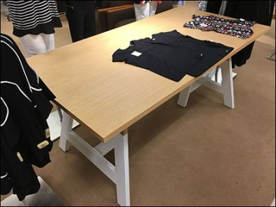 Plimsoll Line Sawhorse Table at Macys