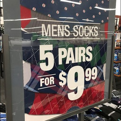 Men's Sock Island Multi-Pair Promotion