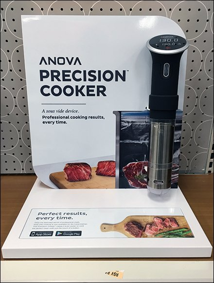 Precision Cooker Shelf Overlay And Backdrop