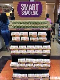 Rectilinear Smart Snacking Cashwrap Display
