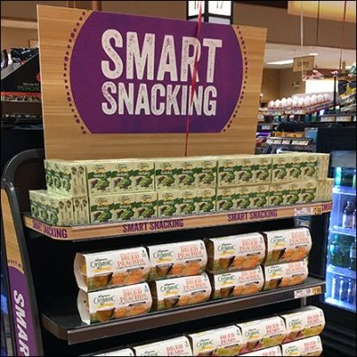 Rectilinear Smart Snacking Cashwrap Display
