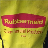 Rubbermade Commercial Products Restroom Cleaning Cart Logo
