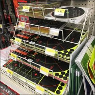 Shooting Target Shelf-Top Declined Wire Rack