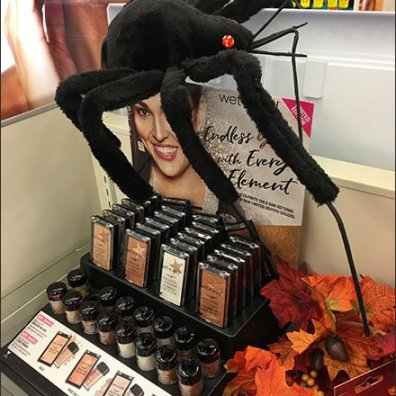 Wet N Wild Cosmetics Halloween Spider