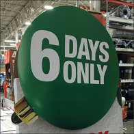 Black Friday Savings For 6 Days Only Feature