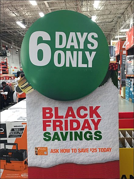 Black Friday Savings For 6 Days Only