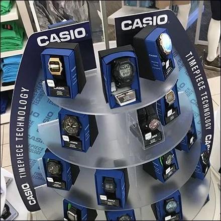 Casio Timepiece Technology Display Detail