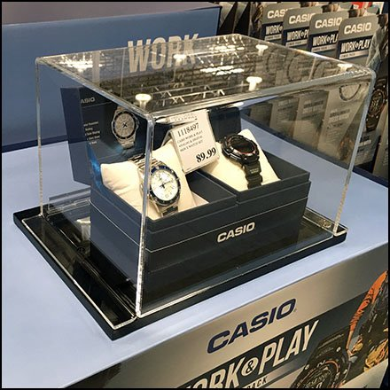 Work And Play Wrist Watch Museum Case