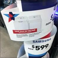 Eccentric Sign Ring Appliance Merchandising