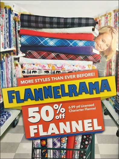 Flannelrama Celebration of Flannel Styles