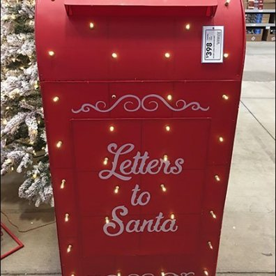 Full-Size Santa's Mailbox Escapes Macys 2