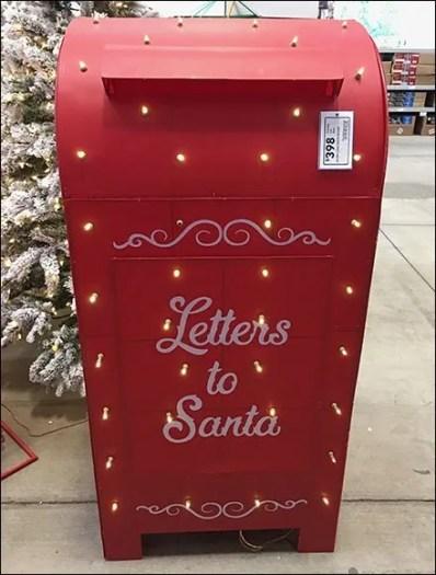 Full-Size Santa's Mailbox Escapes Macys 2