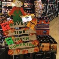 Harvest Time Pumpkins Pallet Sign Substrate