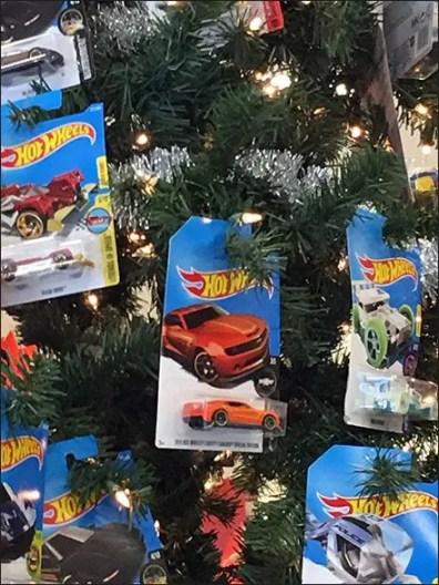 Hot Wheels Christmas Tree Ornaments