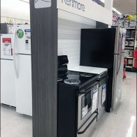 Kenmore Flyover Appliance Branding At Kmart