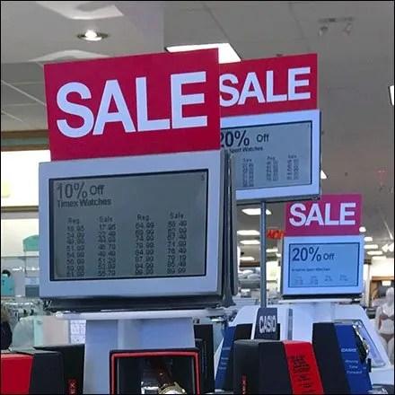 Wrist Watch Display Digital Signage at Kohls