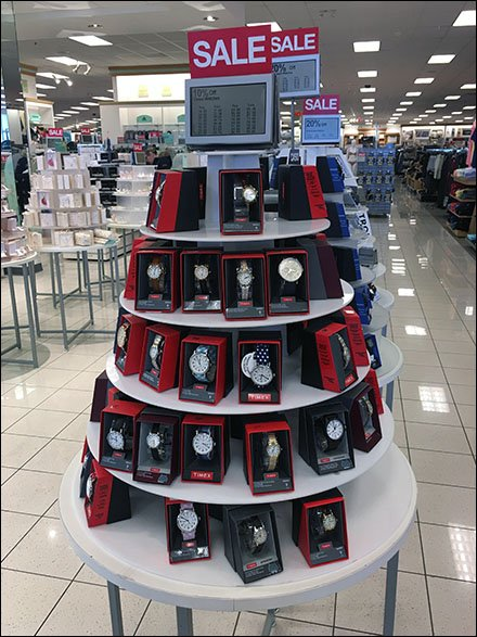 Wrist Watch Display Triplets At Kohls