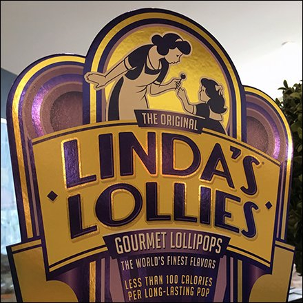Linda's Lollies Purple and Gold Branded Livery