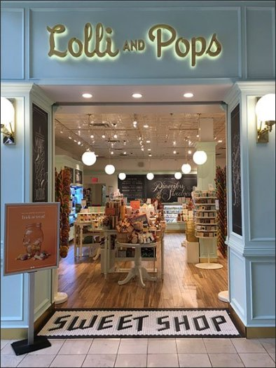 Lolli and Pops Sweet Shop Branding
