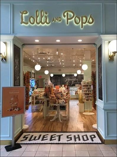 Lolli and Pops Sweet Shop Branding
