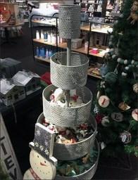 Perforated Bulk Bin Conical Christmas Tree