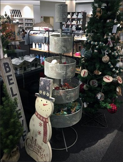 Perforated Bulk Bin Conical Christmas Tree