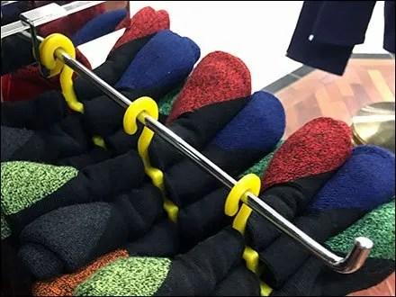 Polo Ralph Lauren Yellow Sock Hangers