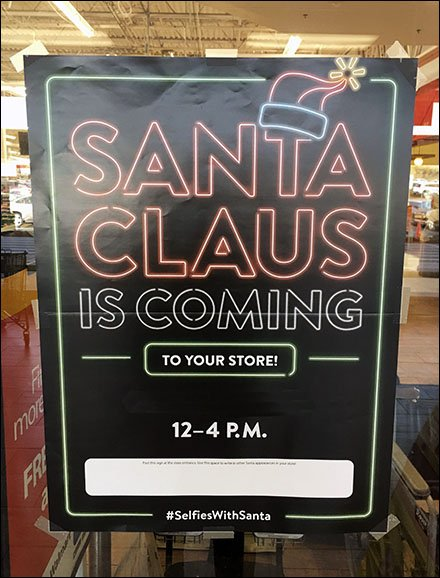 Santa Claus Is Coming To Your Store