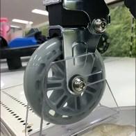 Scooter Wheel Chocks For Shelf Top Display