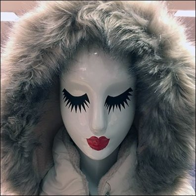 Winter Mannequin Mascara Makeup at Macys Feature