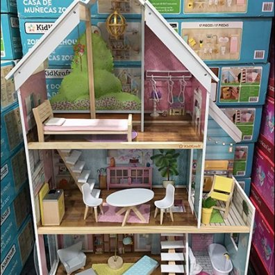 Zoey Doll House Demonstration Hero
