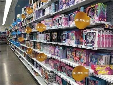 Shelf-Edge Category Definition Goes Glamorous