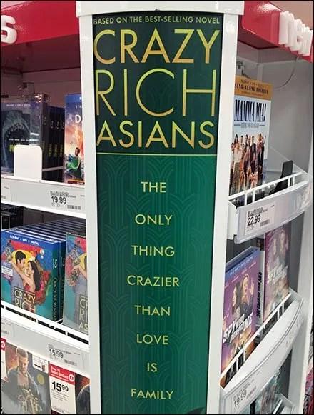 Crazy Rich Asians Cashwrap Endcap Promo