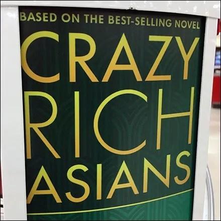 Crazy Rich Asians Cashwrap Endcap Promo Feature