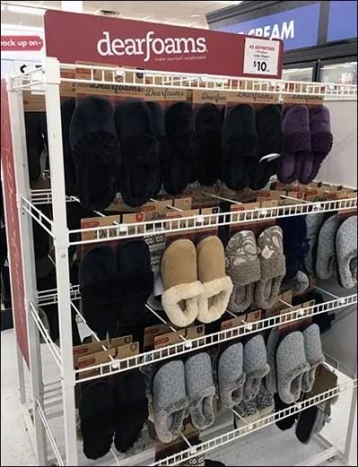 DearFoams Comfy Slippers Hangrod Outfitting