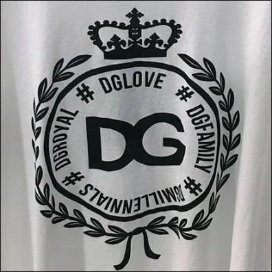 Dolce & Gabbana T-Shirt Branded Merchandising