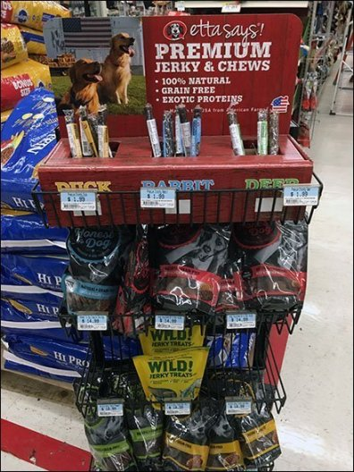 Duck Jerky, Rabbit Jerky and Deer Jerky Sales