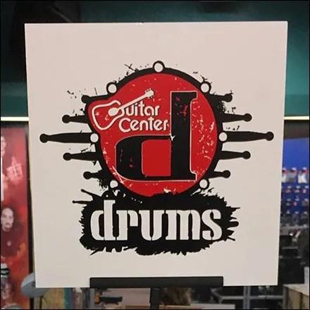 Guitar Center Drum Tree Merchandising Floor Stand Square1