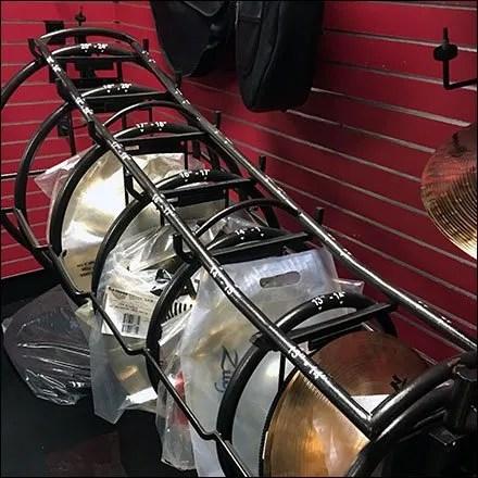Guitar Center Cymbal Horizontal Floor Rack